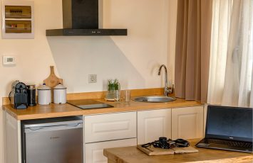 Superior living space kitchen room